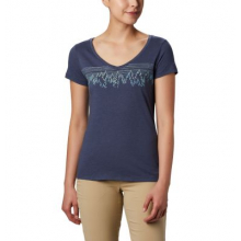 Women's Hidden Lake V Neck Tee by Columbia in Langley City Bc