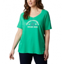 Women's Extended Mount Rose Relaxed Tee by Columbia