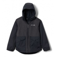 Youth Girls Rainy Trails Fleece Lined Jacket by Columbia in Langley City Bc