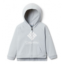 Youth Girls Toddler Columbia Branded French Terry Full Zip