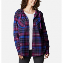 Women's Anytime Stretch Hooded LS Shirt by Columbia in Boulder CO