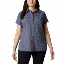 Women's Extended Silver Ridge Novelty SS Shirt by Columbia