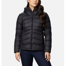Women's Autumn Park Down Hooded Jacket by Columbia in Chelan WA