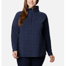 Women's Extended Glacial IV Print 1/2 Zip by Columbia in Omak WA