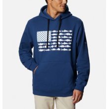 Men's PFG Fish Flag Hoodie by Columbia in Loveland CO