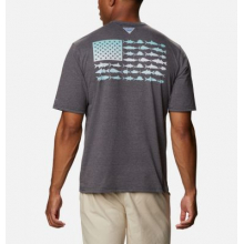 Men's Pfg Fish Flag Graphic Ss by Columbia in Sheridan CO