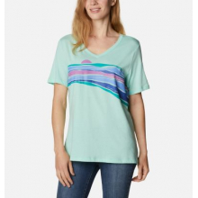 Women's Bluebird Day Relaxed V Neck by Columbia in Sheridan CO