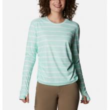 Women's W Sun Deflector Summerdry Ls Shirt by Columbia in Chelan WA