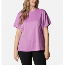 Women's Extended W Zero Ice Cirro-Cool Ss Shirt by Columbia in Cranbrook BC