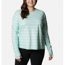 Women's Extended W Sun Deflector Summerdry Ls Shirt by Columbia in Cranbrook BC