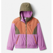 Youth Girls Side Hill Lined Windbreaker by Columbia