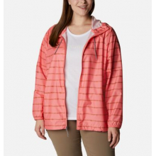Women's Extended Side Hill Printed Windbreaker by Columbia in Cranbrook BC