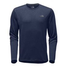 Men's L/S Reaxion Amp Crew by The North Face in Squamish BC