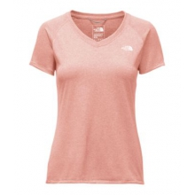 Women's Short Sleeve Rxn Amp V-Neck by The North Face in Flagstaff Az