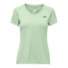 Women's S/S Reaxion Amp V-Neck Tee by The North Face in Knoxville Tn