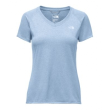 Women's S/S Reaxion Amp V-Neck Tee by The North Face in Kirkwood Mo