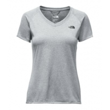 Women's S/S Reaxion Amp V-Neck Tee by The North Face in Ramsey Nj
