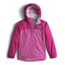 Girl's Resolve Reflective Jacket by The North Face in Fairbanks Ak