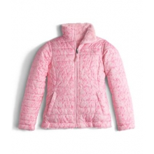 Girl's Reversible Mossbud Swirl Jacket by The North Face in Bowling Green Ky