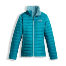 Girl's Reversible Mossbud Swirl Jacket by The North Face in Evanston Il