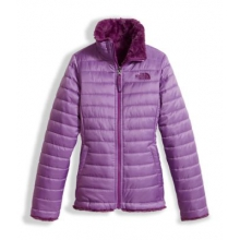 Girl's Reversible Mossbud Swirl Jacket by The North Face in Ofallon Il