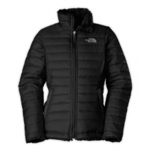 Girl's Reversible Mossbud Swirl Jacket by The North Face in Norwell Ma