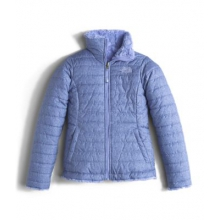 Girl's Reversible Mossbud Swirl Jacket by The North Face in Melrose Ma
