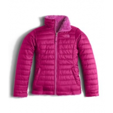 Girl's Reversible Mossbud Swirl Jacket by The North Face in Stamford Ct