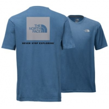 Men's Short Sleeve Red Box Tee by The North Face