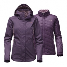 Women's Mossbud Swirl Triclimate Jacket by The North Face in Kennesaw Ga