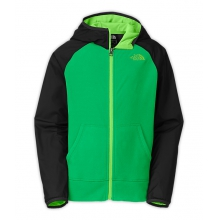 Boy's Glacier Track Full Zip Hoodie by The North Face