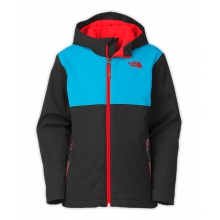 Boy's Hooded Soft Shell Jacket by The North Face