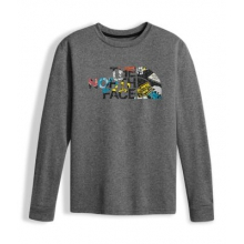 Boy's Ls Reaxion Tee by The North Face
