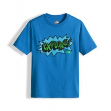 Boy's Ss Graphic Tee by The North Face in Sioux Falls SD