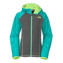 Girl's Glacier Track Full Zip Hoodie by The North Face