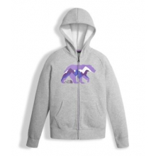 Girl's Logowear Full Zip Hoodie by The North Face