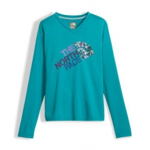 Girl's Ls Reaxion Tee by The North Face