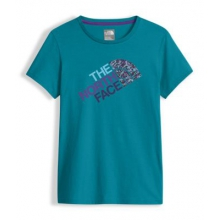 Girl's Ss Graphic Tee by The North Face in Sylva Nc