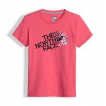 Girl's Short Sleeve Graphic Tee by The North Face in Sylva Nc