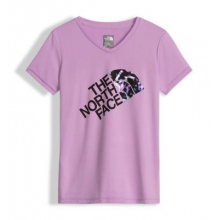 Girl's Short Sleeve Reaxion Tee by The North Face in Succasunna Nj