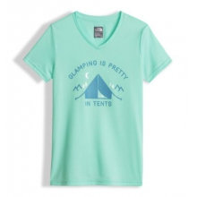 Girl's Short Sleeve Reaxion Tee by The North Face