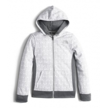 Girl's Surgent Full Zip Hoodie by The North Face in South Yarmouth Ma