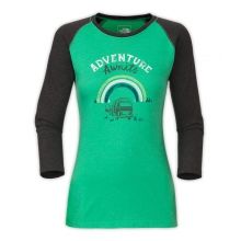 Women's 3/4 Sleeve Adventure Waits Tee by The North Face