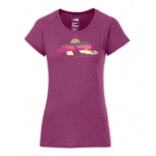 Women's S/S Bliss Trail Scoop Neck Tee by The North Face