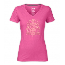 Women's S/S Outside Is Inside V-Neck Tee by The North Face