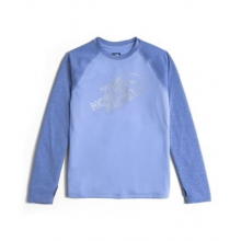 Girl's Mak L/S Baseball Tee by The North Face