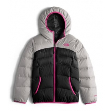 Girl's Reversible Moondoggy Jacket by The North Face in Succasunna Nj