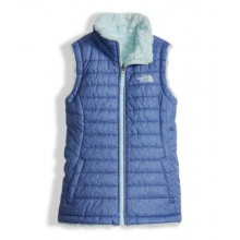 Girl's Reversible Mossbud Swirl Vest by The North Face in Sioux Falls SD