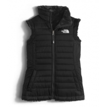 Girls' Reversible Mossbud Swirl Vest by The North Face in Oxford Al