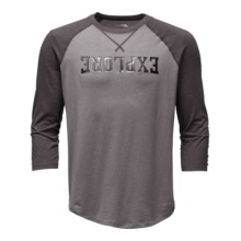 Men's 3/4 Explore Crew Tee by The North Face